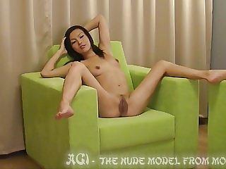 Mongolian Agi Nude