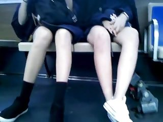 Bus Cam 3: 2 Asian Honeys
