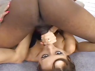 Tiffany Holiday Gets A Pussy Creampie