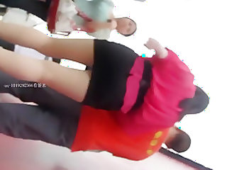 hot Chinese girls upskirt part 4